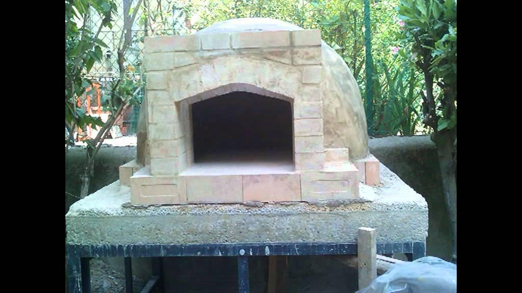 costruire forno a legna in mattoni refrattari pomacy youtube