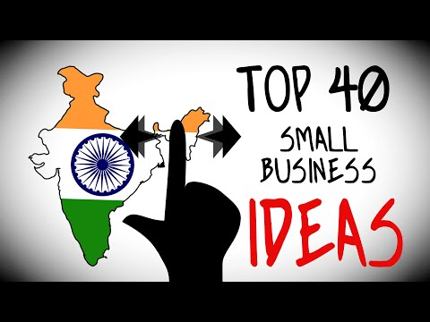 Top 40 Small Business Ideas in India for Starting Your Own B