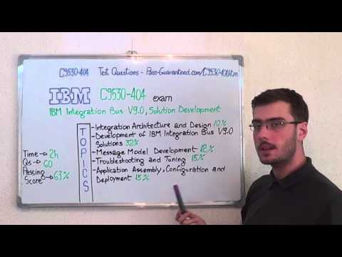 C9530-404 – IBM Exam Integration Bus Test Solution Questions