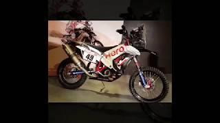 Hero RR 450 MotoSports Rally Bike Walk Around Video