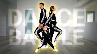 ELLE TEACHES US HOW TO DANCE!!! **ULTIMATE FAMILY DANCE BATTLE**