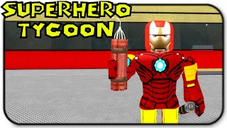 Roblox - Super Hero Tycoon - Soy Iron Man!