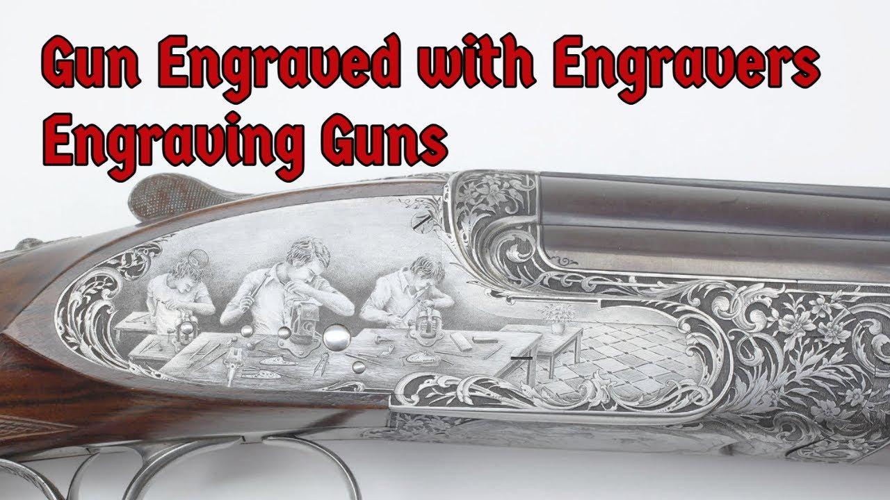 Engraved Abbiatico & Salvinelli O/U Shotgun