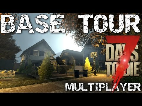 7 Days to Die Base Design tour - Multiplayer - Day 1000 +