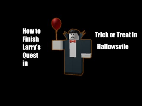 Roblox Trick Or Treat In Hallowsville Vampire Quest Youtube