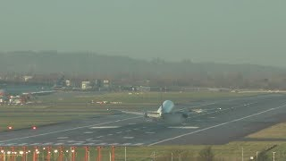 London Heathrow Airport Live 3 Go Arounds already