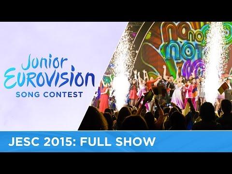 Junior Eurovision Song Contest 2015: Full Show