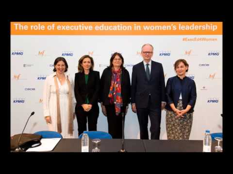 """Debate """"The role of executive education in women's leadership"""""""