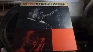 John Coltrane Hank Mobley Two Tenors - Side 1 - Prestige 7043