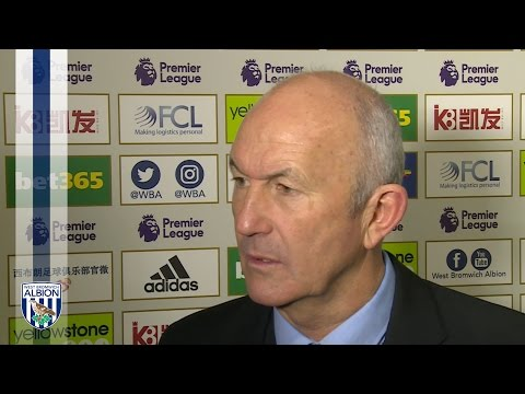 Tony Pulis evaluates Albion's 2-0 Premier League defeat by Crystal Palace