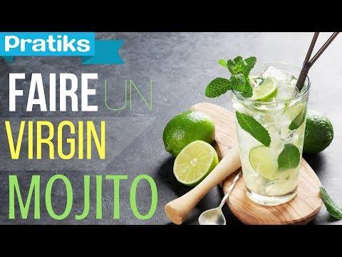 Comment Faire Un Virgin Mojito Sans Alcool Cocktail
