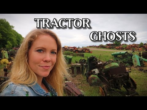 Ghosts Of Farming Long Ago: Visiting A Tractor Graveyard For Parts