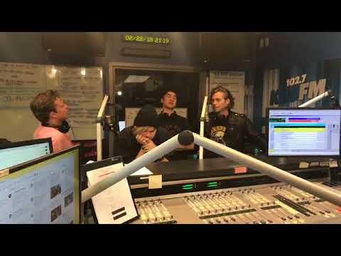 5 Seconds of Summer on 1027 KIIS FM  February 22, 2018