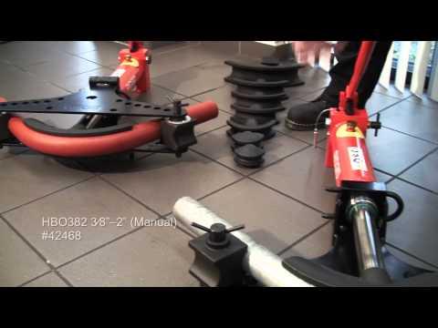RIDGID - Hydraulic Pipe Benders