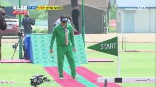 개리, 송지효, 지석진 지압판 장애물 달리기! ...