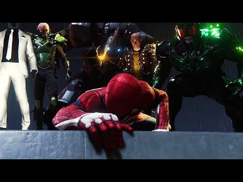 Человек-Паук против Зловещей Шестерки. Погоня за электро.Spider-Man (2018) [PS4]