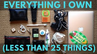 Everything I Own // Minimalist // Less than 25 things