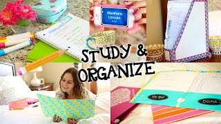 Study Tips & DIY Organization for Back to School! Thumbnail