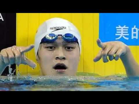 Sun yang Wins Mens 200m Freestyle Second Semi Final