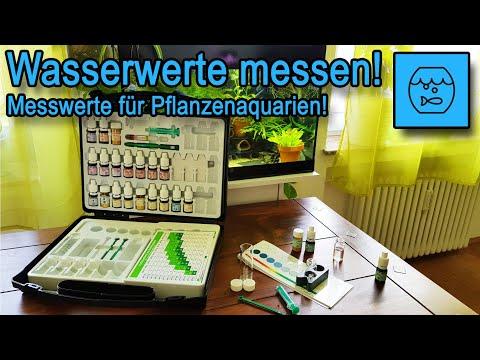 Wichtige Aquarium Messwerte - Wasserwerte im Pflanzenaquarium mit dem JBL ProScape Testlab messen