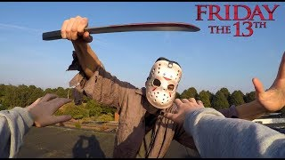 PSYCHOPATH VS PARKOUR | JASON FRIDAY THE 13TH