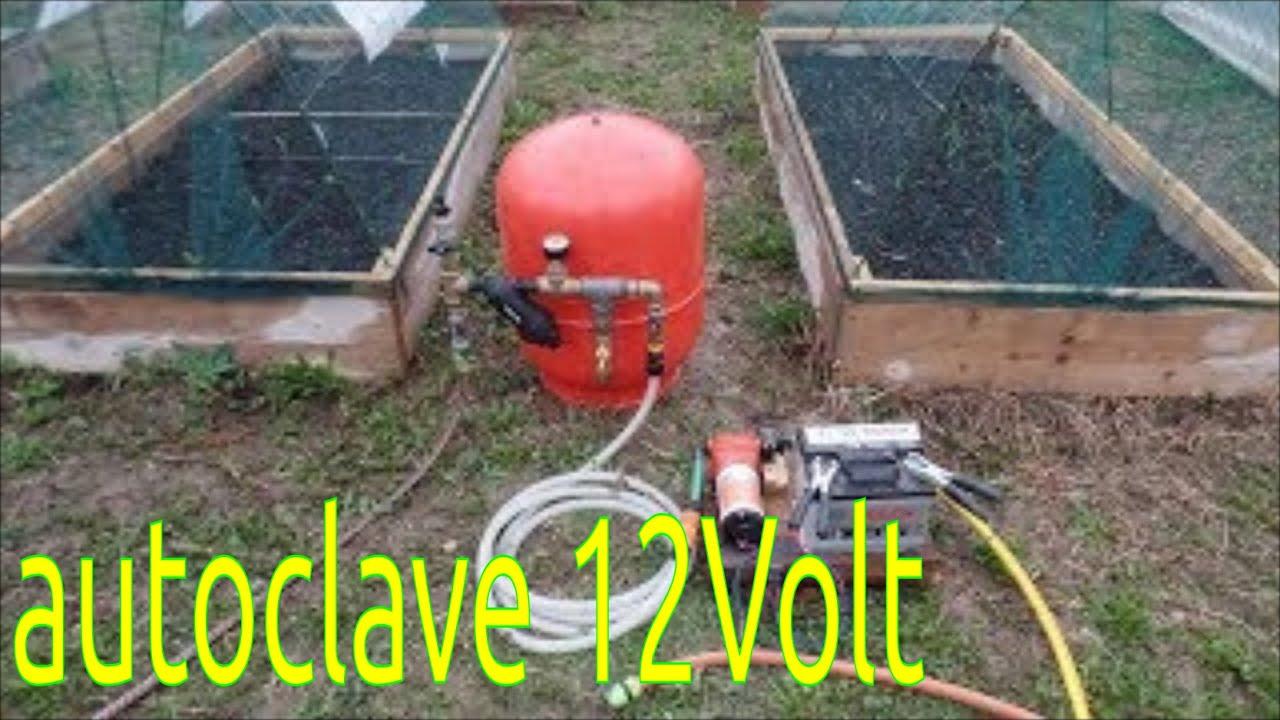 Autoclave da giardino per irrigazione della serra nebulizzazione