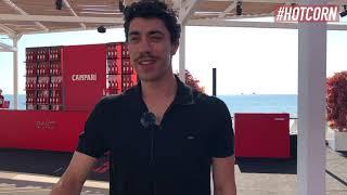 EDUARDO SCARPETTA   Da Qui Rido io a L'amica geniale 3: l'intervista all'attore al Campari Lounge