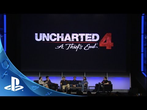PlayStation Experience 2015: Uncharted 4: Stories from the Performance Capture Set Panel