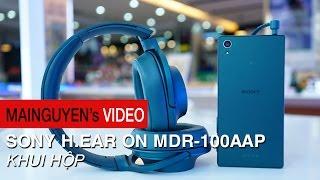khui hop tai nghe sony hear on mdr-100aap  - wwwmainguyenvn