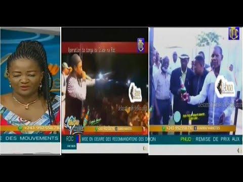 KARIBU VARIETE : WERRASON concert tonga stade, plein ya somo + SOCODA azo tonga immeuble