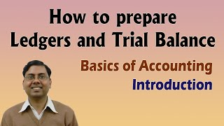 #1 Ledger Posting and Trial Balance ~ Basics for Beginners