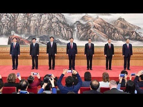 十九届中共中央政治局常委同中外记者见面 | CCTV