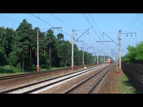 Скорый поезд №17 Петрозаводск-Москва (Карелия)