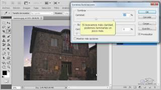 Curso de Photoshop CS5.  Ejercicio 10. Ajustar la luz de una fotografía.