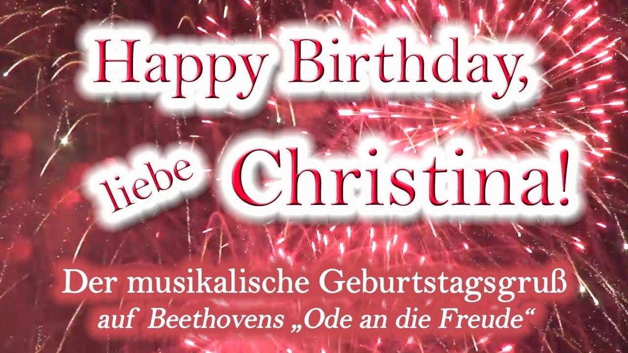 Alles Gute Zum Geburtstag Christina