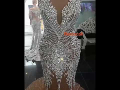 Warosky De Cristal India Modas Rociocali 622494878 Vestido Piedras Ygf7b6vIym