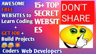 {Amazing Websites}How to become a Programmer|Web Developer|At Home|From Scratch|With no experience