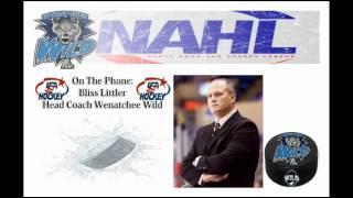 Bliss Littler Interview - Wenatchee Wild Head Coach.wmv