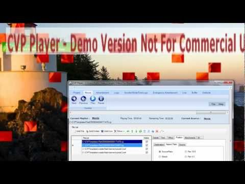 CVP Player New Version - Power CG Templates with Flash Alpha