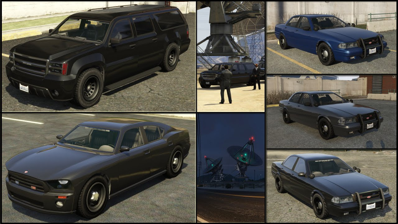 GTA 5: get the Unmarked Police Cruiser & FIB SUV [PS4] - YouTube