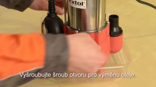 Videonávod - Elektrické kalové čerpadlo