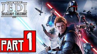 Star Wars Jedi: FALLEN ORDER Walkthrough Part 1 (PS4 Pro) No Commentary @ 1440p (60ᶠᵖˢ) ✔