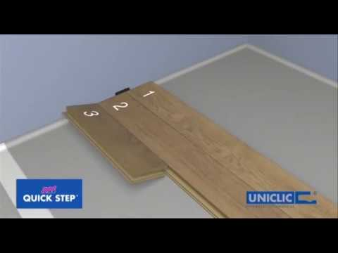 how to install quick step laminate flooring planks youtube. Black Bedroom Furniture Sets. Home Design Ideas