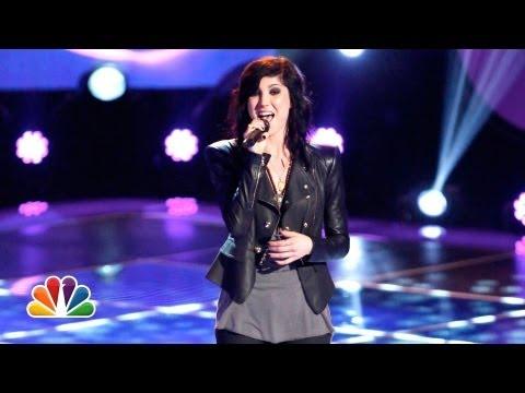 Bri Cuoco The Voice Audition  Kaley Cuoco's Sister!
