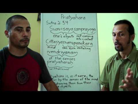 Pratyahara Part 1a