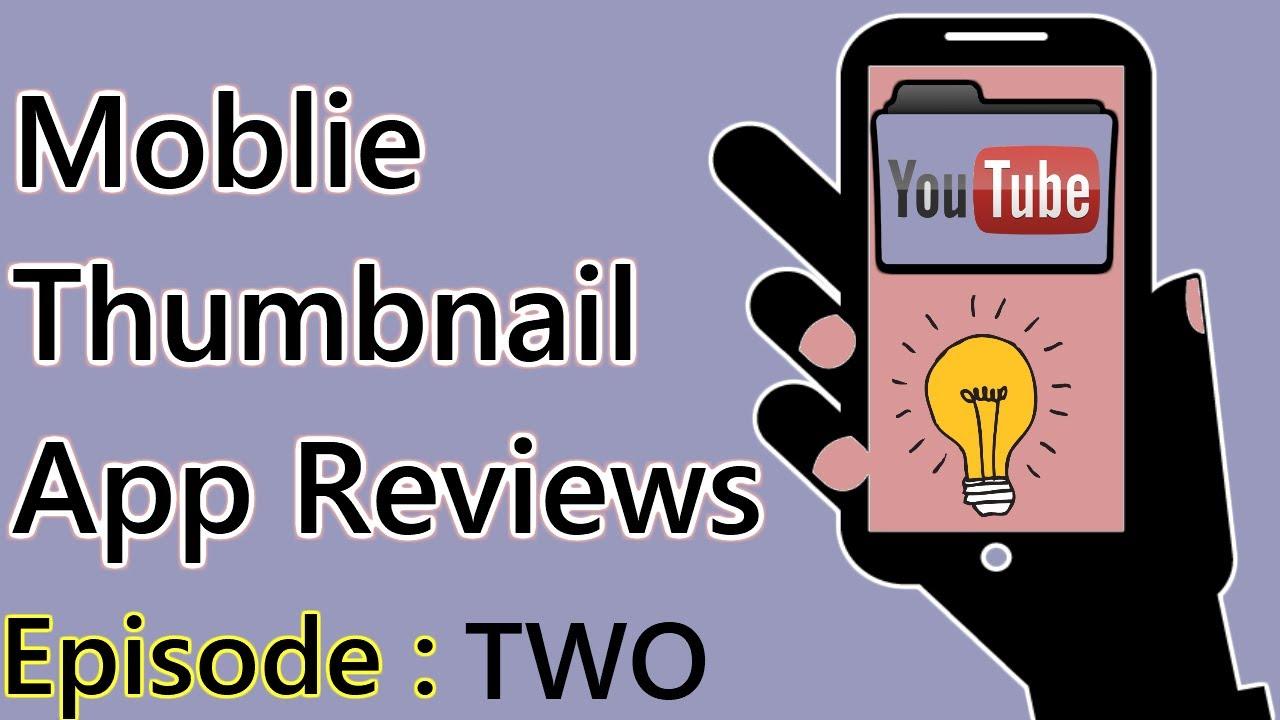 Thumbnail App Review | Thumbnail Maker & Banner Maker | Ep 2