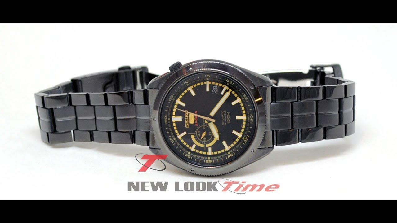 15a77050db5 Relógio Seiko Automâtico masculino 4R37AC 1 - YouTube