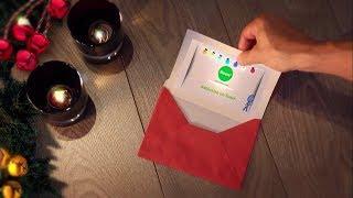 Inkman Christmas Holiday card for you