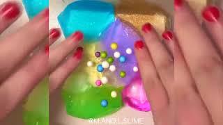 Slime Mixing   Satisfying Slime ASMR !