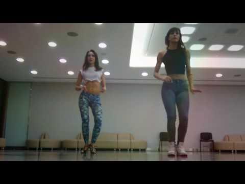 Sara Panero and Marina Kizomba Lady style Moskow